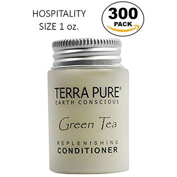 Terra Pure Green Tea Conditioner, 1 oz. In Jam Jar With Organic Honey And Aloe Vera (Case of 300)