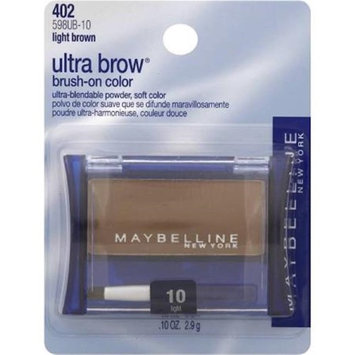 Merchandise 8656266 Colormates Gel Eye Liner with Brush Brown