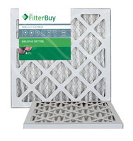10x16x1 AFB Platinum MERV 13 Pleated AC Furnace Air Filter. Filters. 100% produced in the USA. (Pack of 2)
