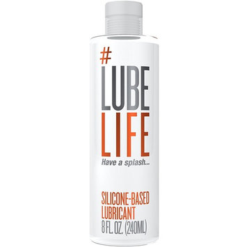 #LubeLife Anal Lubricant - Thick Silicone Based Lube, 8 Ounce Waterproof Anal Sex Lube for Men, Women and Couples (Free of Parabens, Glycerin and Oil): Health & Personal Care