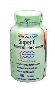 Rainbow Light 0285965 Super C Buffered Vitamin C Powder - 4 oz