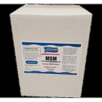 Kala Health, Inc Kala Health MSM Powder Coarse Flakes 33 Lbs