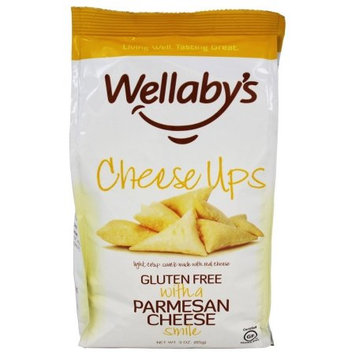 Wellaby's Cheese Ups Parmesan Crackers, 3 OZ (Pack of 2)