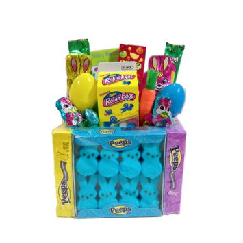 Gifts2gonow Easter Marshmallow Peep Candy Gift Basket