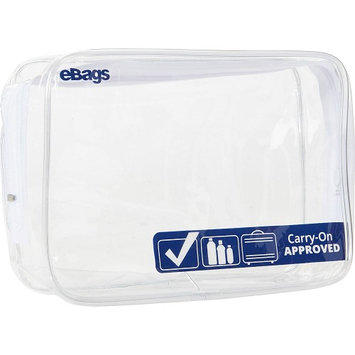 eBags Zippered Clear Quart Pouch Clear - eBags Packing Aids