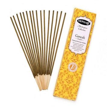 Nitiraj Masterpiece Collection Incense 2-Pack 25gm 1 Hour per Stick Ganesh
