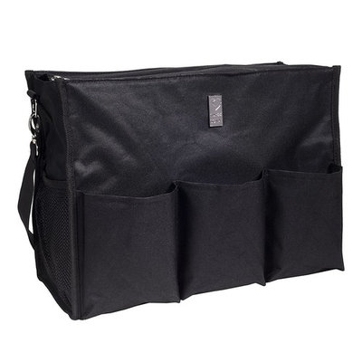 Wheelchair Bag for Back of Chair w/ 5 Exterior & 5 Interior Pockets - Perfect Carrier Bag for Newspaper, Medical Paperwork, Blanket & More for Most Electric, Manual or Power Wheelchairs