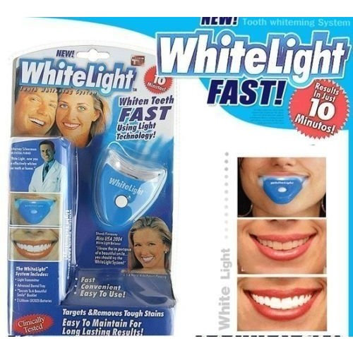 TEETH Portable Whitening Kit that turns your teeth as white as snow. Try this device and smile anywhere and anyhow (4 PACK)
