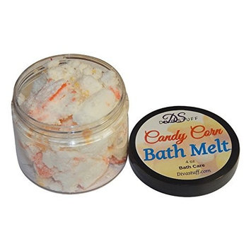 Candy Corn Scented Bath Melts, Skin Softening and Great Smelling, By Diva Stuff