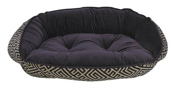 Bowsers Pet Products Bowsers Diamond Series Microvelvet Crescent Dog Bed Avalon, Size: Large (36L x 27W x 7H in.)