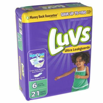 Luvs® Ultra Leakguards™ Diapers Size 6