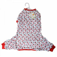 Lookin Good Candy Cane Dog Pajamas Large - (Fits 19-24 Neck to Tail) - Pack of 3