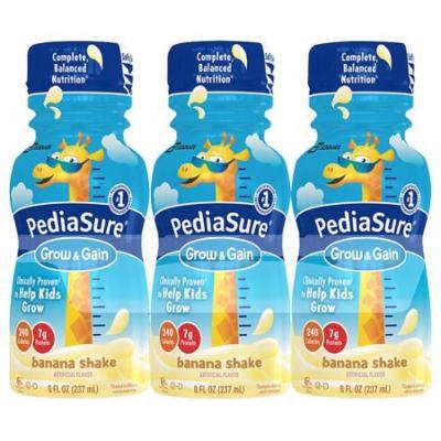 PediaSure Complete, Balanced Nutrition Shake Banana8.0 fl oz x 6 pack(pack of 6)