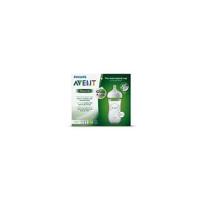 Philips Avent Natural Glass Baby Bottle3.0 ea(pack of 3)