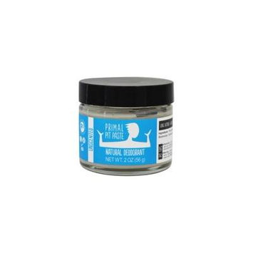 Natural Deodorant Jar Unscented - 2 oz. by Primal Pit Paste (pack of 12)