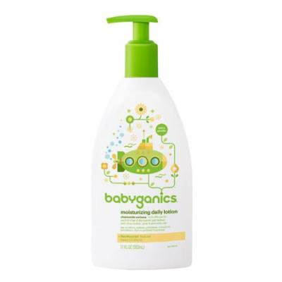 Babyganics Smooth Moves Extra Gentle Daily Lotion Chamomile Verbena17.0 oz.(Pack of 2)
