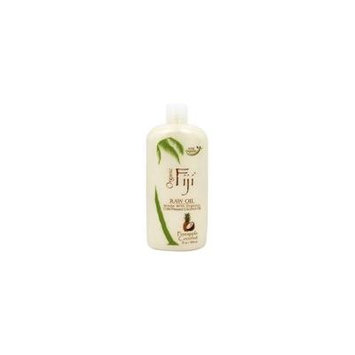 Organic Cold Pressed Raw Coconut Oil Pineapple Coconut - 12 fl. oz. by Organic Fiji (pack of 4)