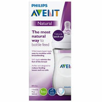 Philips Avent Natural Baby Bottle (SCF013/17) Clear1.0 ea(pack of 6)