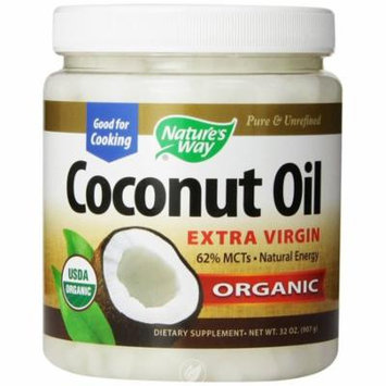 Nature's Way Extra Virgin Organic Coconut Oil, 32-Ounce, Pack of 2