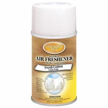 2PK Country Vet Fresh Cotton Metered Fragrance Air Freshener