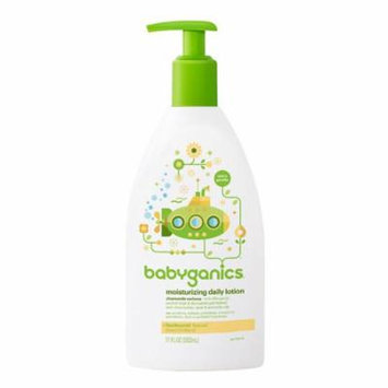 Babyganics Smooth Moves Extra Gentle Daily Lotion Chamomile Verbena17.0 oz.(Pack of 12)