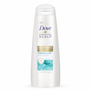Dove Pure Daily Care 2-in-1 Shampoo and Conditioner, 12 Oz (Pack of 4)