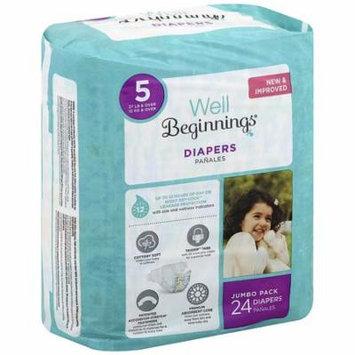 Well Beginnings Premium Diapers 524.0 ea(pack of 2)