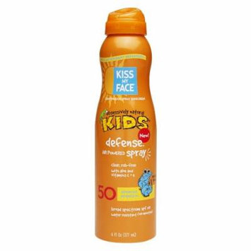 Kiss My Face Continuous Spray Sunscreen Kids Defense SPF 506.0 oz.(pack of 4)