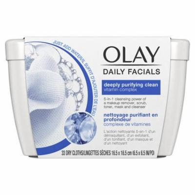 Daily Facial Cleansing Cloths Tub for a Deeply Purifying Clean (Pack of 10)