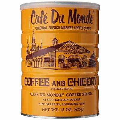 Cafe Du Monde Coffee and Chickory, 15 Ounce (Pack of 6)