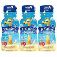 PediaSure Complete, Balanced Nutrition Shake Banana8.0 fl oz x 6 pack(pack of 3)