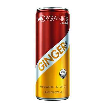Organics by Red Bull Ginger Ale 24 Pack of 8.4 Fl Oz, Organic Soda Drink [Ginger Ale]