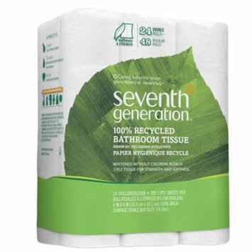 Seventh Generation Bathroom Tissue, 2 ply240.0 sh x 24 pack(pack of 6)