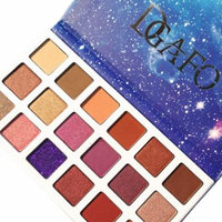 DZT1968 18 Color Starry sky Shimmer Glitter Eye Shadow Plate Powder Matt Eyeshadow