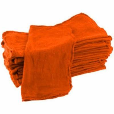 Globe House Product GHP Set of 600pcs Orange Shop Cleaning Towels Rags