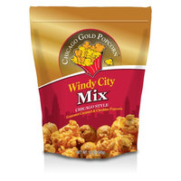 Windy City Gold Popcorn Chicago Gold Popcorn - Windy City Mix Cheese & Caramel Popcorn Gusset bag