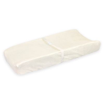 Just Born® Sparkle Velboa Changing Pad Cover