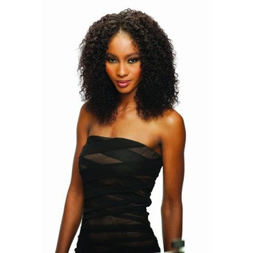 JERRY CURL 4PCS (4 Medium Brown) - Shake N Go Milkyway SAGA Indian Remy Wet & Wavy Weave Extension by SAGA
