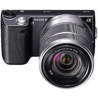 Sony Alpha NEX-5 Interchangeable Lens Camera with 18-55mm Lens - Black