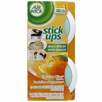 2 Twin Packs Air Wick Stick Ups Solid Air Fresheners, Sparkling Citrus Scent