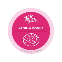 HiLine Vanilla Bean Donut K-Cup Coffee Pods for Keurig® 2.0 Machines