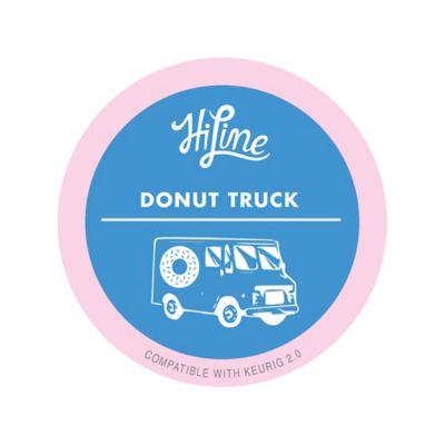 HiLine Donut Truck (Medium Roast) Pods for Keurig® Machines