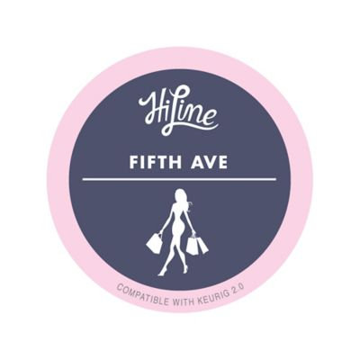 10-Count HiLine Fulton St.™ Fifth Avenue Coffee for Single Coffee Makers