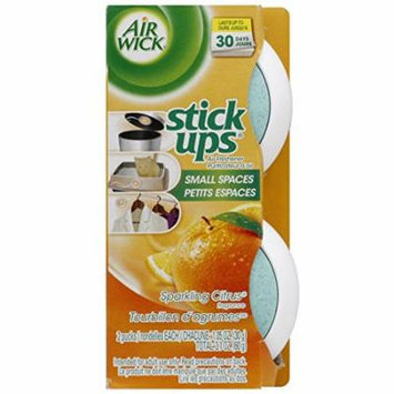 10 Twin Packs Air Wick Stick Ups Solid Air Fresheners, Sparkling Citrus Scent