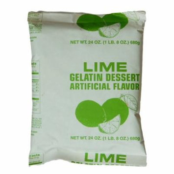 Instant Lime Gelatin - 1.5 Lb Pouch