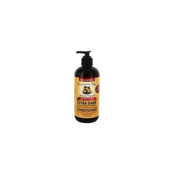 The Original Authentic Jamaican Black Castor Oil Conditioner Extra Dark - 12 fl. oz. by Sunny Isle (pack of 4)
