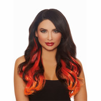 Women's Long Wavy Layered Three-Piece Hair Extensions