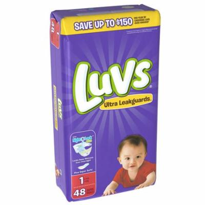 Luvs® Ultra Leakguards™ Diapers Size 1