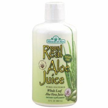 Real Aloe 100% Pure Aloe Juice - 1 qt
