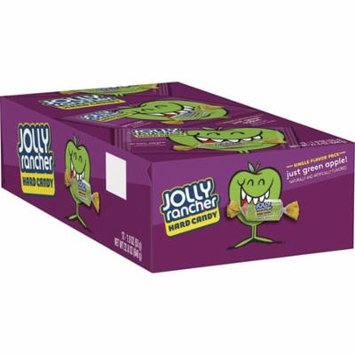 Jolly Rancher, Green Apple Hard Candy, 1.9 Oz (Pack of 12)